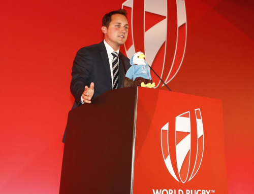 Hosting the HSBC World Rugby Sevens Series awards